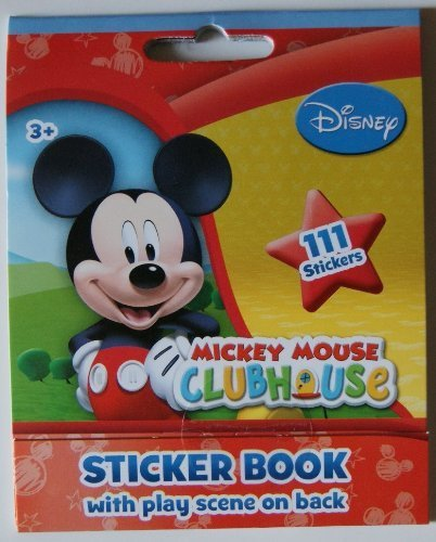 Mickey Mouse Sticker Book, 111-Count-Disney