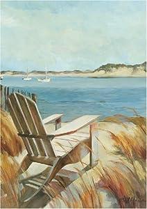 Toland Beach Chair Art Flag