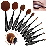 Great-Gift-Idea-New-Profesional-Pro-Balance-Soft-Hair-Oval-Makeup-Brush-Sets-10-Pcs-Smooth-Cosmetics-wow-Artis-Toothbrush-Brushes-Foundation-Eyeshadow-Eyeliner-Lip-Contour-Kit-Cream-Puff-Blush-wow-Set