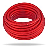 InstallGear 8 Gauge Ga Awg Red 25ft Power/Ground Cable True Spec and Soft Touch Wire