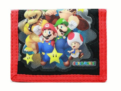 Trifold Wallet - Nintendo - Super Mario Bros - Black