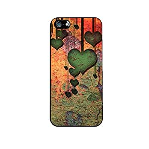 Vibhar printed case back cover for Apple iPhone 4 VintageHearts