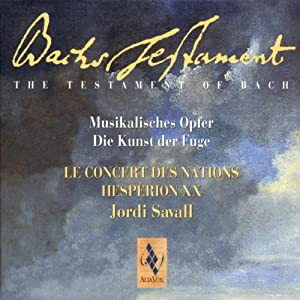 Bach's Testament Vol. I - Musikalisches Opfer