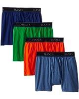 Hanes Men's Comfort Blend Boxer Brief (Pack of 4)