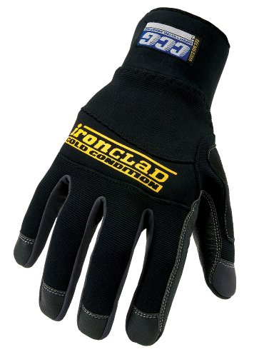 Ironclad CCG-05-XL Cold Condition Gloves, Black, Extra Large