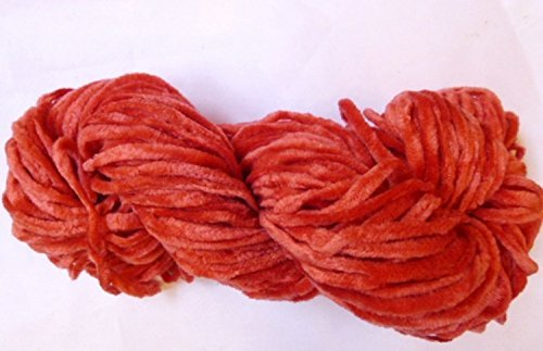 poppy-red-bulky-chunky-soft-chenille-yarn-by-bloomingdale-farm