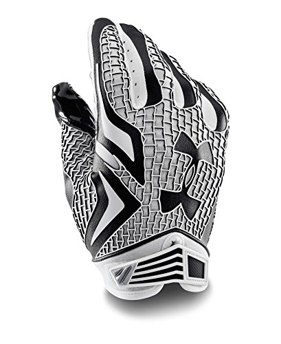 Under Armour Men's UA Swarm Football Gloves Large Black (Football Gloves Under Armour compare prices)