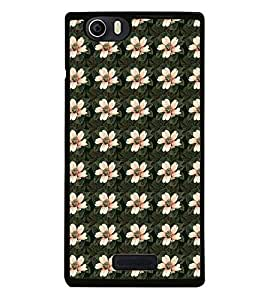 Fuson Premium 2D Back Case Cover Pink floral pattern With black Background Degined For Micromax Canvas Nitro 2 E311::Micromax Canvas Nitro 2 (2nd Gen)