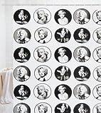 Crystal Bay City Marilyn Monroe Shower Curtain