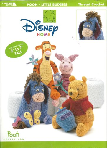 Pooh - Little Buddies (Thread Crochet Patterns Toys, Pooh Collection) front-865217