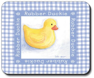 Rubber Ducky Plates front-412985