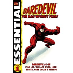 Essential Daredevil, Vol. 1 (Marvel Essentials) (v. 1) by Stan Lee,&#32;Wallace Wood,&#32;John Romita and Gene Colan