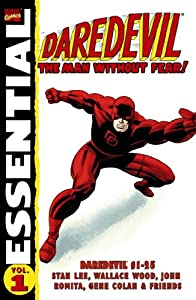 Essential Daredevil, Vol. 1 (Marvel Essentials) (v. 1) by Stan Lee, Wallace Wood, John Romita and Gene Colan