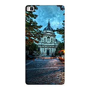 Vintage Fort Back Case Cover for Huawei P8