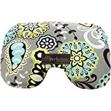 Migraine Relief Eye Pillow Masks | Remedy Your Chronic Migraines, Headaches and Sinus Problems by Perfection Collection. (Brown and Blue)