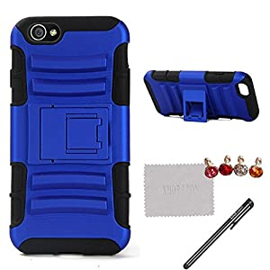"""xhorizon TM Heavy Duty Shock Absorbing Dual Layer Protection Cover with Kickstand for Apple 4.7"""" iPhone 6 by xhorizon"""