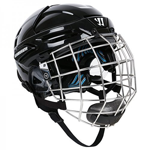 Warrior-Krown-LTE-Helmet-and-Face-Mask-Combo-Black-Medium