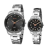 KARP Classics Analog Silver Dial Couple's Watch