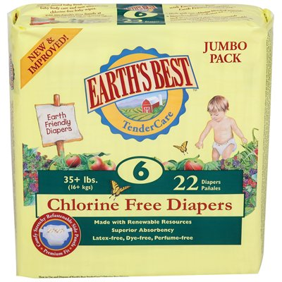 Earth Friendly Disposable Diapers