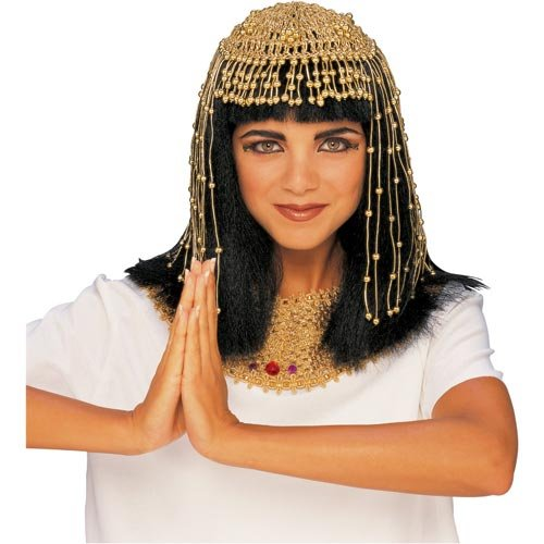 Cleopatra Mesh Headpiece Adult Egyptian Costume Accessory