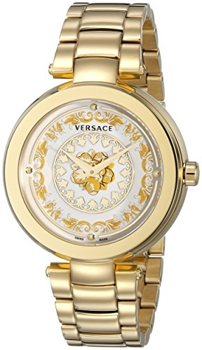 Versace-Womens-VQR030015-Mystique-Foulard-Analog-Display-Quartz-Gold-Tone-Watch