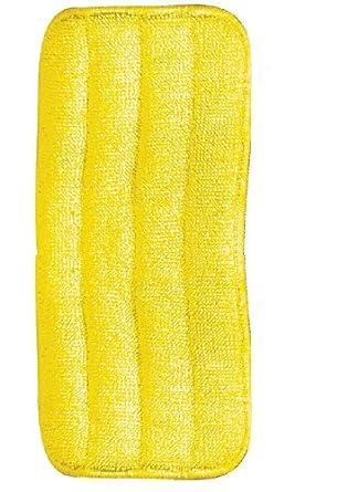 Carlisle 363322404 Yellow 24 Oz. Microfober Wet Mop Pad (Case of 12)