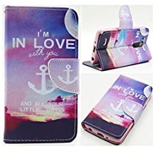 buy Lg G3 Vigor (Beat/Mini) Case, Easytop Fashion Sparkle Pattern Premium Pu Leather Wallet Flexible Stand Flip Protective Cover Case For Lg G3 Vigor (Mini/Beat) D725 5 Inch Screen, With 2 Built-In Credit Card, Id Card Slots, Cash Pocket And Magnetic Closure