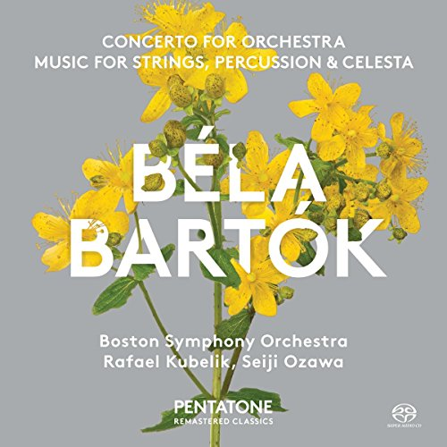 SACD : BOSTON SYMPHONY ORCHESTRA - Concerto For Orchestra & Music For Strings (Hybrid SACD)
