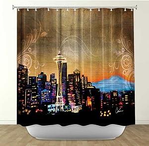Shower Curtain Artistic Designer From Dianoche Designs By Arist Corina Bakke Unique