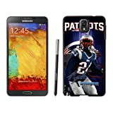 Rock Phone Case Shop-NFL Samsung Galaxy Note 4 Case, New England Patriots Kyle Arrington Rugged Samsung Note 4 Cover, Cool Hard Case For Samsung Galaxy Note 4