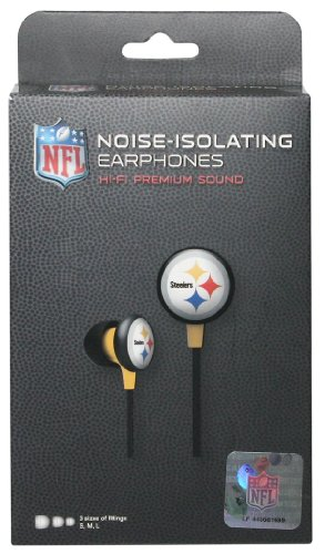 Pittsburgh Steelers Ear Buds at Amazon.com