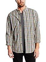 Ben Sherman Camisa Hombre (Multicolor)
