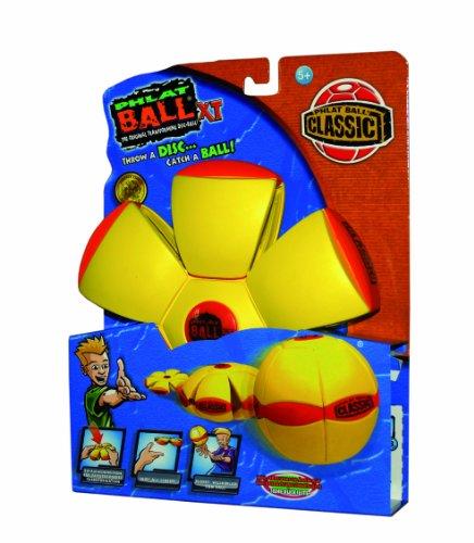 Imagen principal de Universal Trends Phlat Ball TU11025 XT Classic - Disco de silicona transformable en pelota, color amarillo [importado de Alemania]