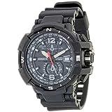 Grabito Men's Black Rubber Watch