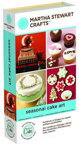 Cricut Martha Stewart Crafts Cartridge, Seasonal Cake Art