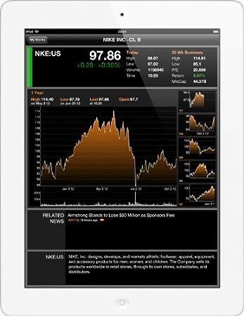 "Apple iPad 4ème génération - MD526NF/A - Tablette Tactile Retina 9.7 "" - WiFi + 3G/4G - 32Gb - iOS 6 - Blanc"