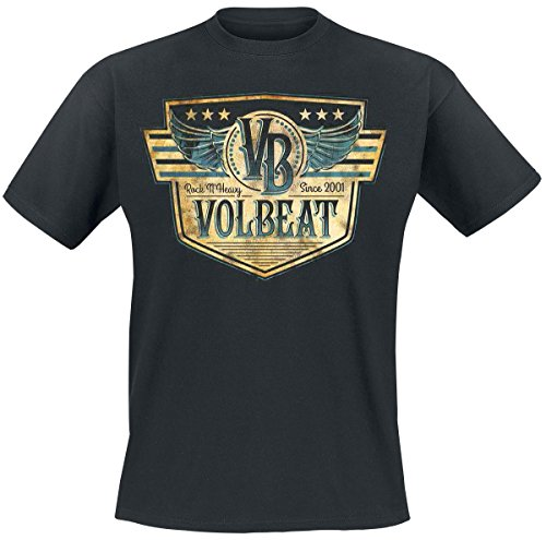 Volbeat Retro Sign T-Shirt nero M