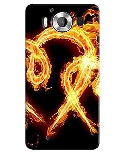 Back Cover for Microsoft Lumia 950,Microsoft Lumia 950 Dual Sim