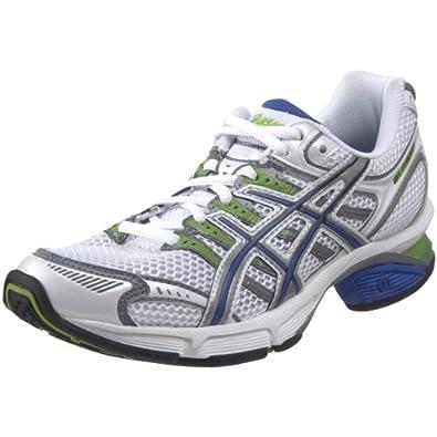 ASICS Women's GEL-Fluent 3 Running Shoe,White/Aluminum/Dazzling Blue,10.5 M US