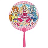 キャラクターボールうちわ GO!プリンセスプリキュア 10枚セット 9697