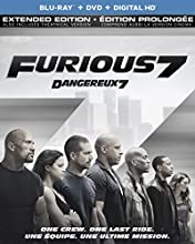 Furious 7 (Extended Edition) [Blu-ray] (Bilingual)