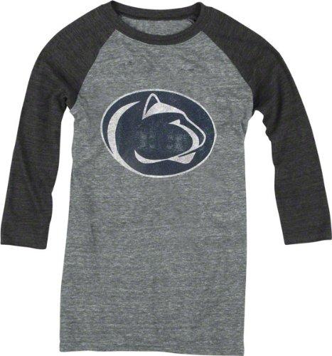 Penn State Nittany Lions adidas Originals Women's Vintage Mascot 3/4 Sleeve Tri-Blend T-Shirt