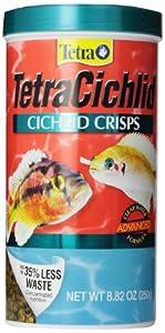 Tetra 77195 TetraCichlid Crisps, 8.82-Ounce, 1-Liter