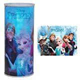 Westland Giftware Cylindrical Nightlight, Disney Frozen