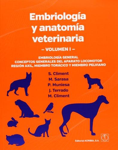 Embriología Y Anatomía Veterinaria - Volumen I: Vol.1