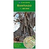 Santiago (Cabo Verde) 1 : 50000 (Carte de randonnée et de loisirs du Cap-Vert)