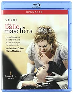 Verdi Un Ballo In Maschera Recorded Live At The Teatro Real Madrid September 2008 Blu-ray from Opus arte