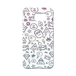 BLUEDIO Designer 3D Printed Back case cover for Samsung Galaxy S7 Edge - G5111