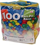 "Free Time 4 Kids100 2.5"" Playballs Balls 65mm"