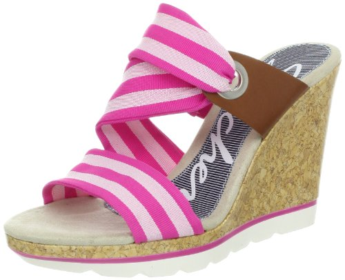 Skechers Cutting Edge Side Bar Clogs And Mules Women Pink Pink (PNK) Size: 5 (38 EU)